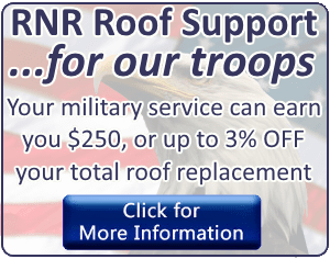Military discount Russ Noyes Roofing
