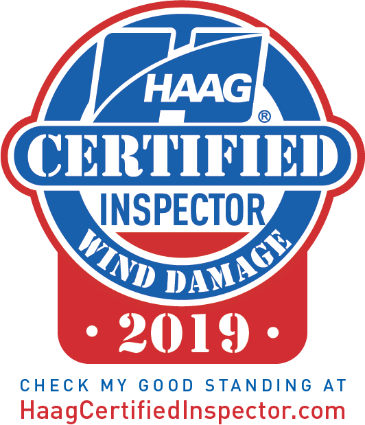 HAAG Certified Wind Damage Roofing Inspector 2019